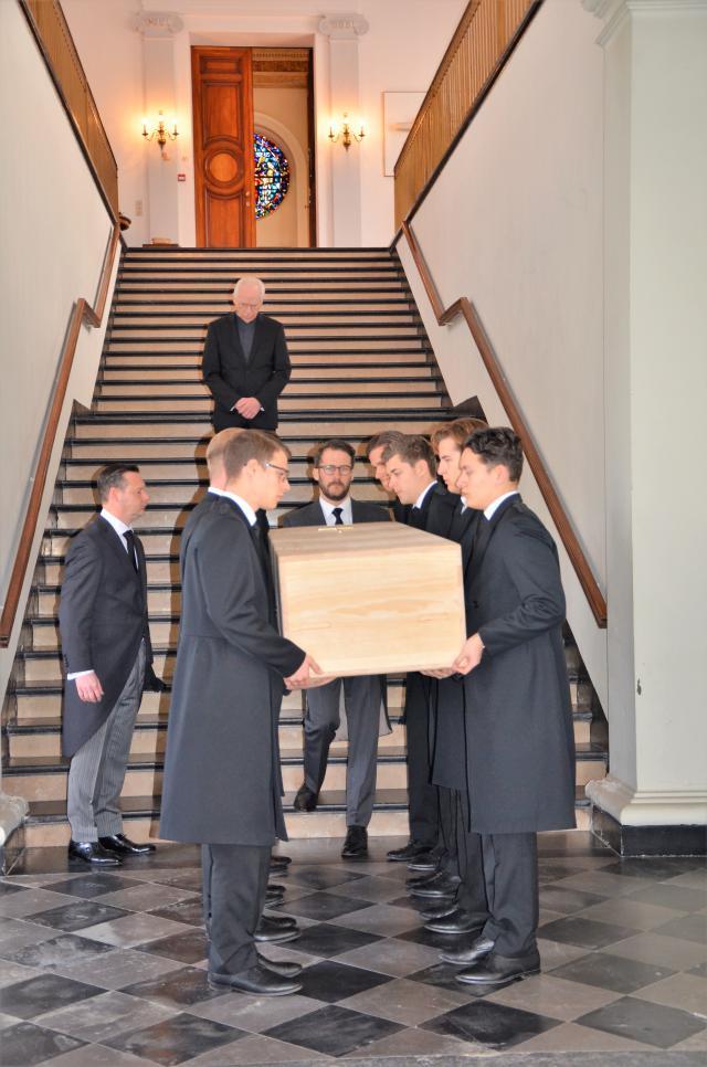 Begrafenis kardinaal Danneels foto Hellen Mardaga