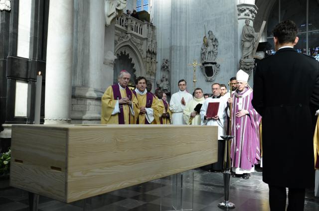 Begrafenis kardinaal Danneels - Foto Hellen Mardaga
