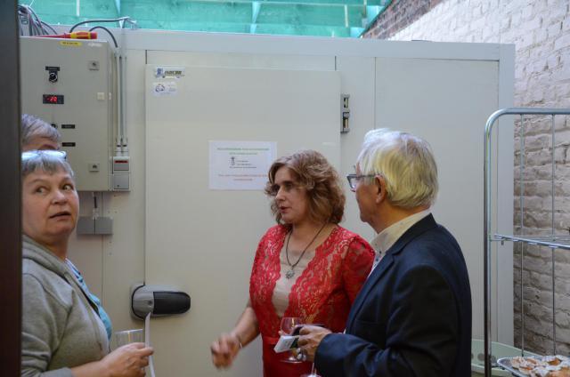 De inrichting en in gebruik nemen van een grote koelruimte © Episol