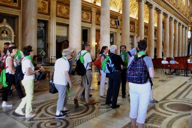 In de basiliek van Santa Maria Maggiore