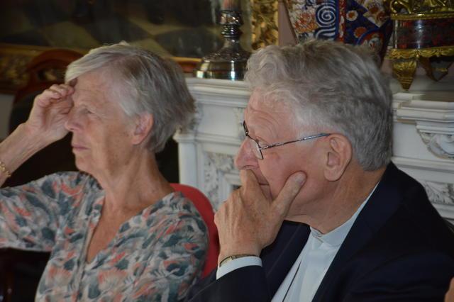 De bisschop en zijn zus - (c) Bisdom Gent, foto: Karel Van de Voorde