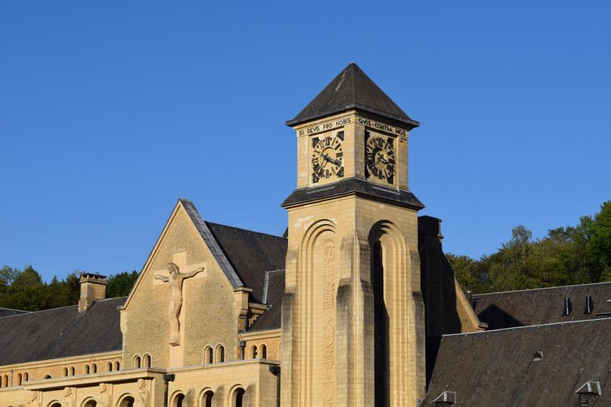 De abdij van Orval is zeker een bezoekje waard! © Isabelle Desmidt