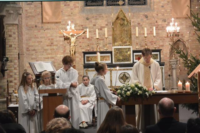 Kerstavondviering kerk Beerst