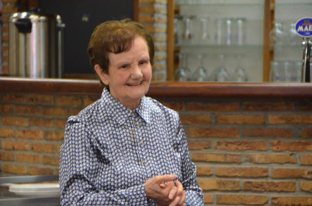 Zuster Rita bracht, hoe kan het ook anders, een Limburgs liedje. © Mariette Dhondt