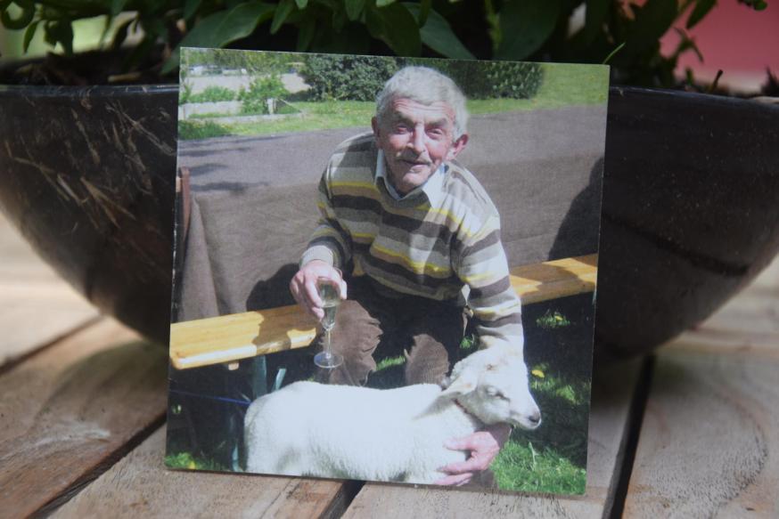 Daniel De Smet, Danny voor de vrienden, was de lieveling van heel Kalmthout. © Jos Vranckx