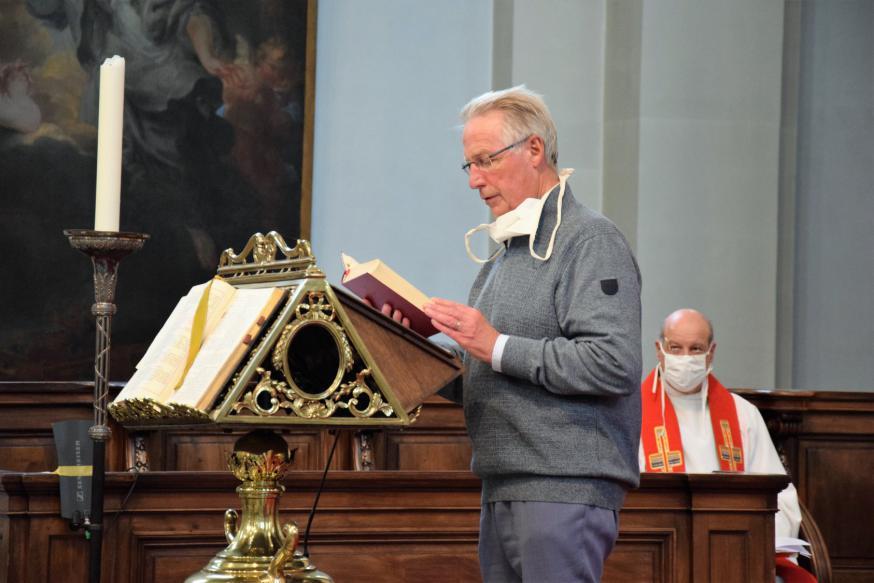 Diaken Wilfried Desmureaux (pastorale eenheid Sint-Kruis) © Patrick Desmarets