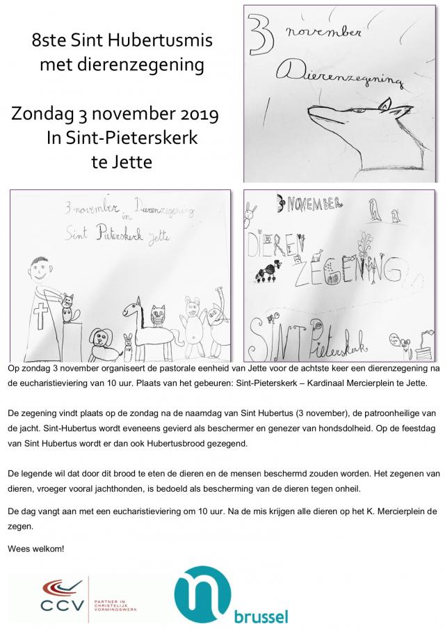 Sint Humbertus 2019 poster