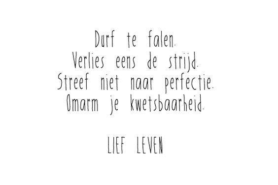 Durf te falen © Lief leven