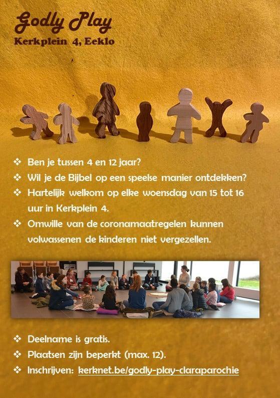 Godly Play aanbod voor kinderen, Eeklo © Joke Vermeire