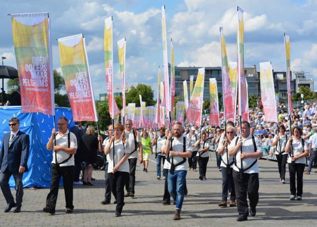 Bij de vijftigste verjaardag van het bisdom Hasselt, viert heel het bisdom mee. © Roland Hermans