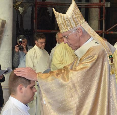 Priesterwijding van Elia Cantaert op 21 oktober 2018