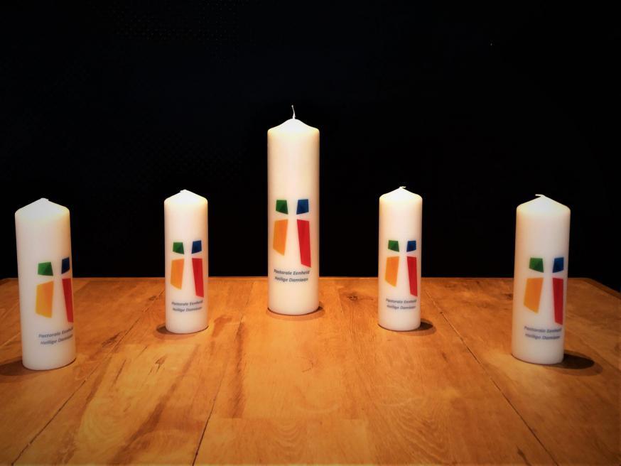kaarsen gemaakt door Sente & Van Bael © Luc Beeldens
