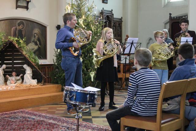 Stemmige muziek klonk in de kerk. © MDR