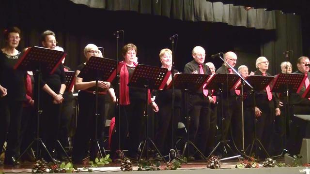 De Dijlezangers uit Mechelen zongen prachtig