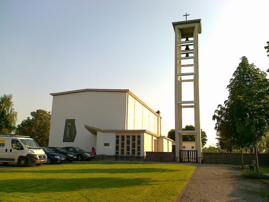De Sint-Jozefkerk in Edixvelde (Nieuwerkerken)