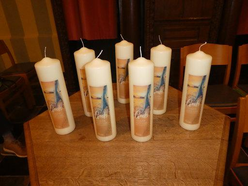 7 kaarsen, 7 parochies © Federatie Peer
