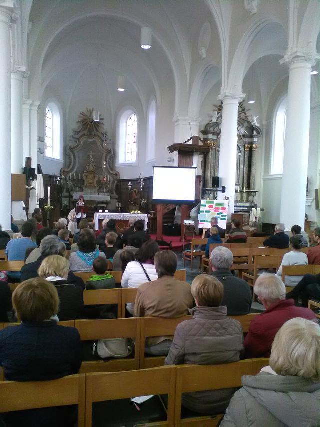 Paaswakeviering in Sint-Joris-Weert © PZ OH