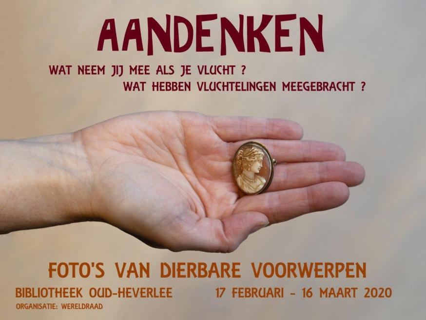 "Affiche fototentoonstelling ""Aandenken"" © Wereldraad Oud-Heverlee"