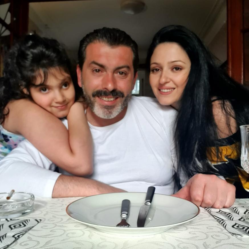 de familie Pashayan © Khloud Khrmaa