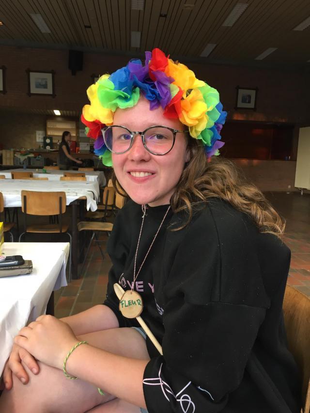 Fleur Rommens (17) op Pluskamp 2019