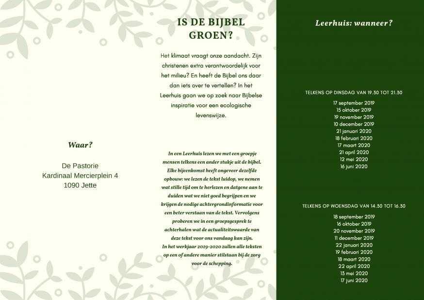 Bijbelgroepen
