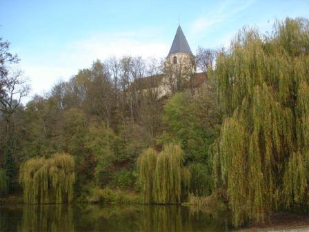 Fontainees-les-Dijon, geboorteplaats van Bernardus © zrs bernardinnen