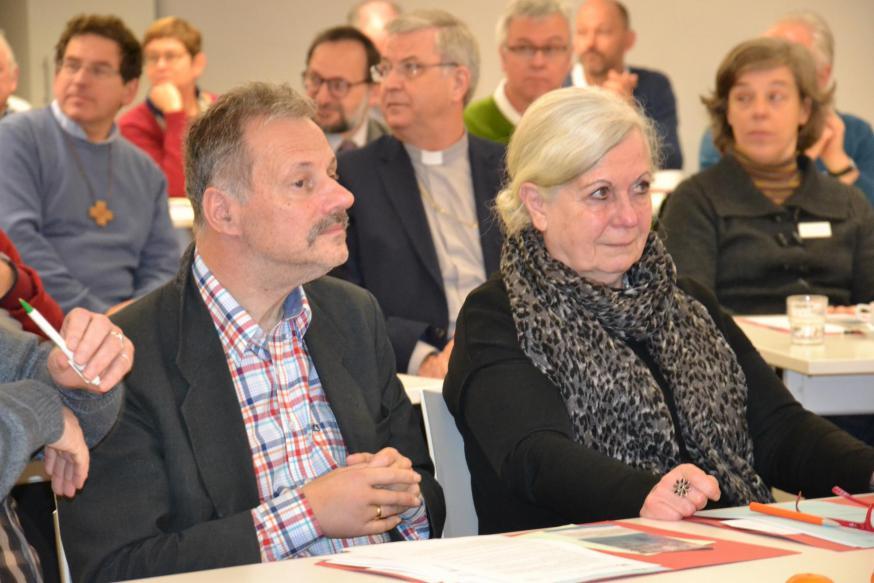 Op zaterdag 7 december vond in het Interdiocesaan Centrum in Brussel het IPB-Forum plaats over synodaliteit in het leven en de zending van de Kerk © Jeroen Moens