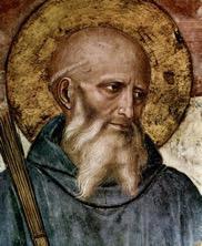 De heilige Benedictus © Fra Angelico