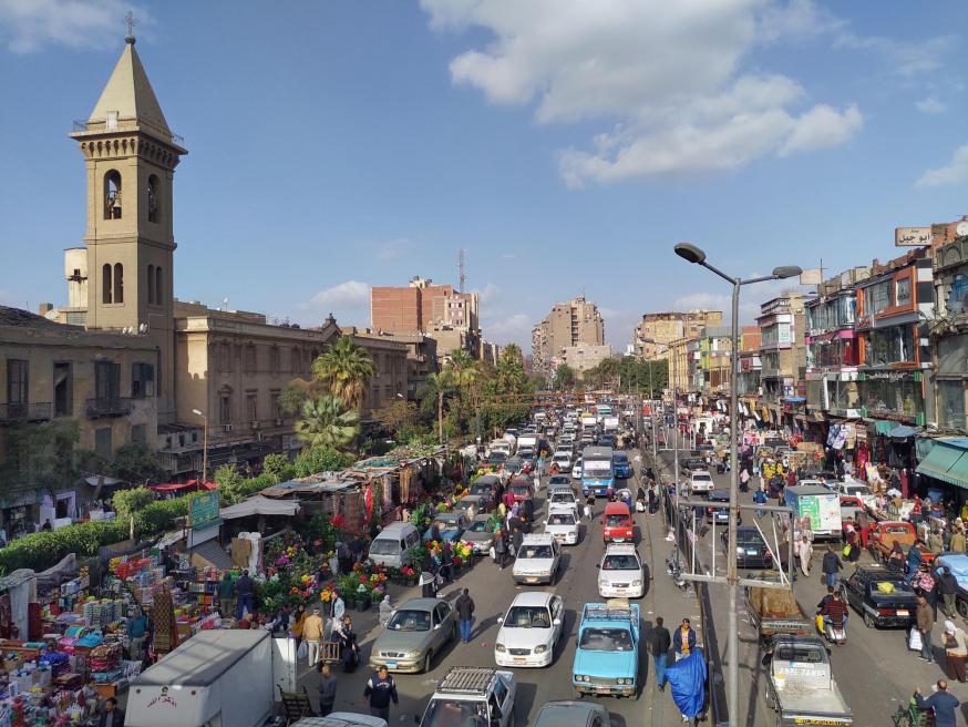 Franciscanenklooster in de hoofdstad Caïro. © Barbara Mertens