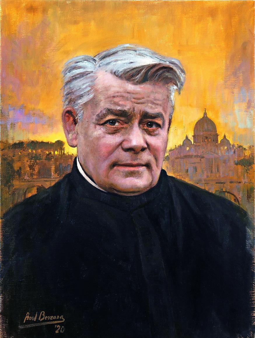 Pater Franciscus Jordan opende in België drie gemeenschappen: in Welkenraedt, in Hamont en in Athus © RR