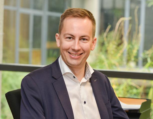 Frederik Van Rampelberg, directeur van het Aalsterse Sint-Jozefcollege  © Sint-Jozefcollege Aalst
