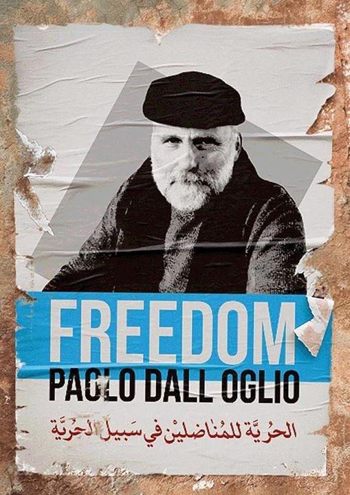 Paolo Dall'Oglio werd ontvoerd in Syrië. De daders zijn nog steeds onbekend. © Babs Mertens
