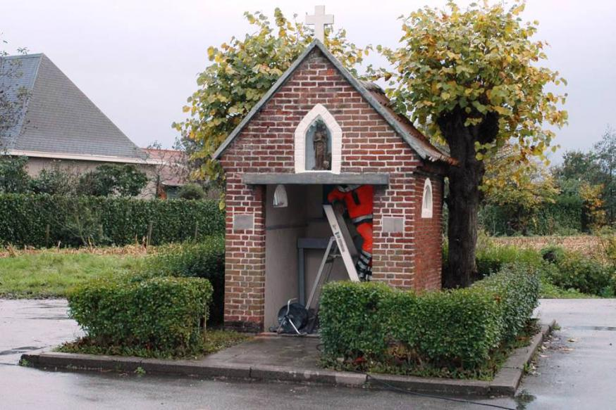 Kapel in de wijk Cootveld in Beervelde  © Staf Annaert