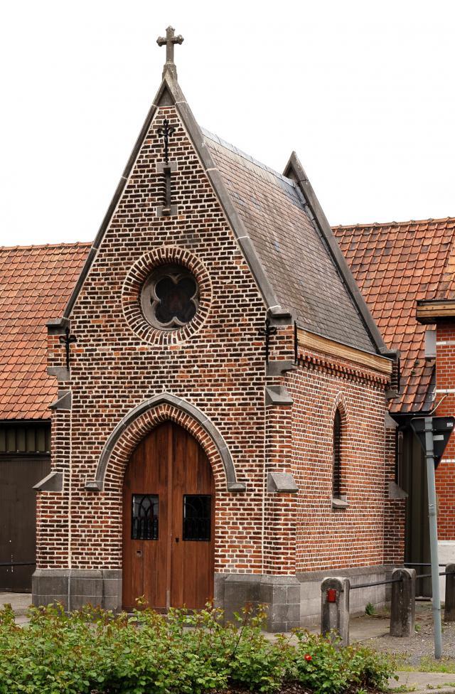 Gerestaureerde kapel Moleneinde Desteldonk © Eddy Van de Walle