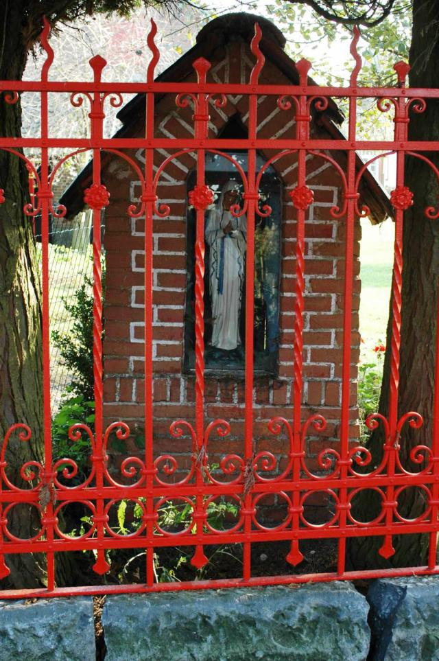 Kapel aan de voormalige hoeve van Fam. Praet © PM