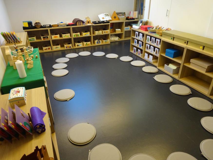 De Godly Play-ruimte in Eeklo. © Joke Vermeire