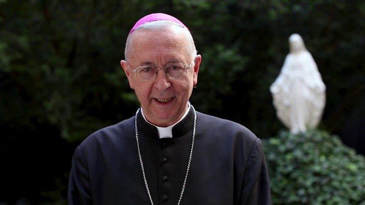 De Poolse aartsbisschop Gadecki © Vatican Media
