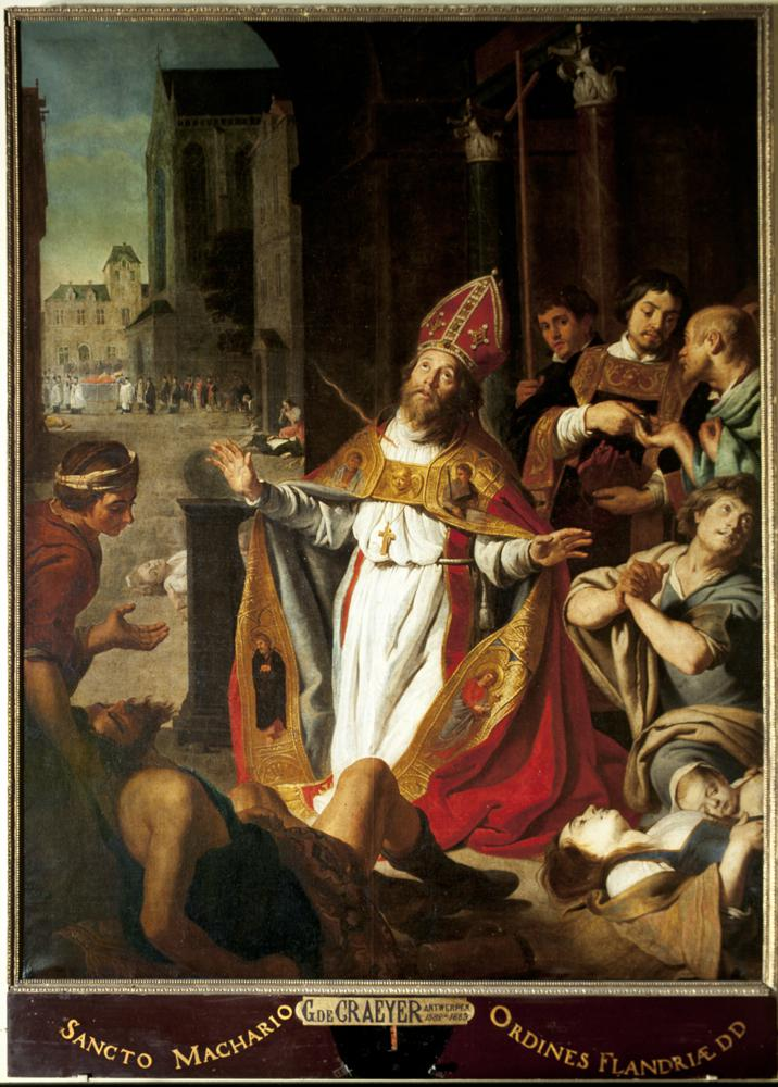 Gaspar De Crayer, Sint-Macharius © Sint-Baafskathedraal