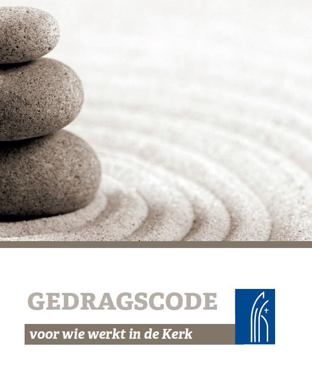 Cover van de Gedragscode voor wie werkt in de Kerk © IPID