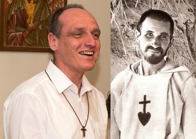 priester Geert Goethals en Charles de Foucauld