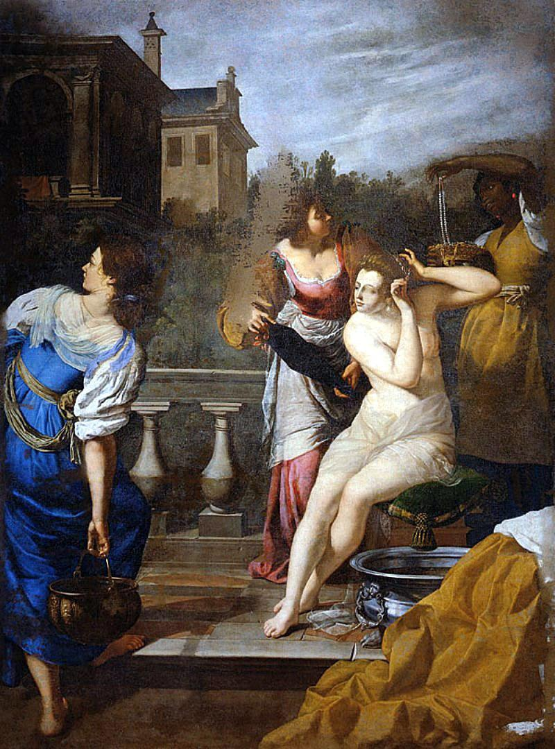 Artemisia Gentileschi, 'Batseba'. © WikiCommons