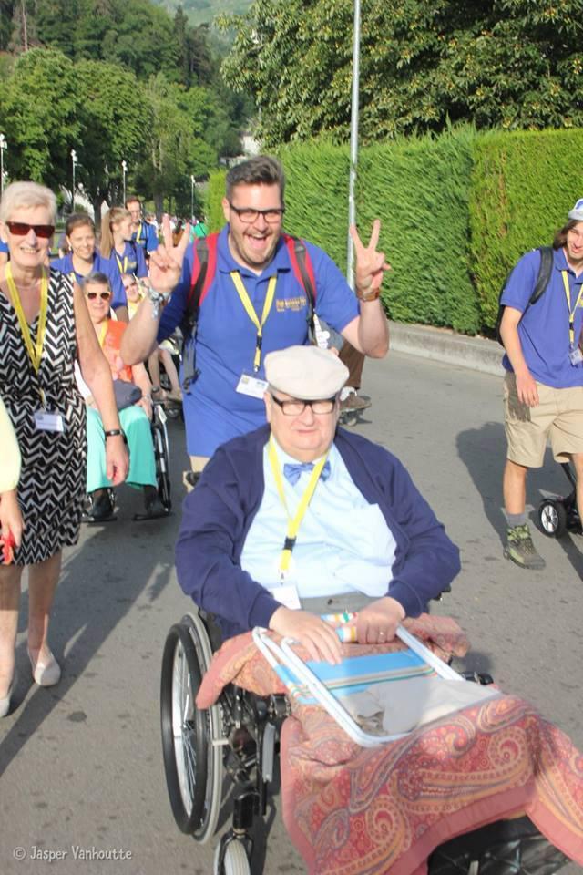 Gilles in Lourdes