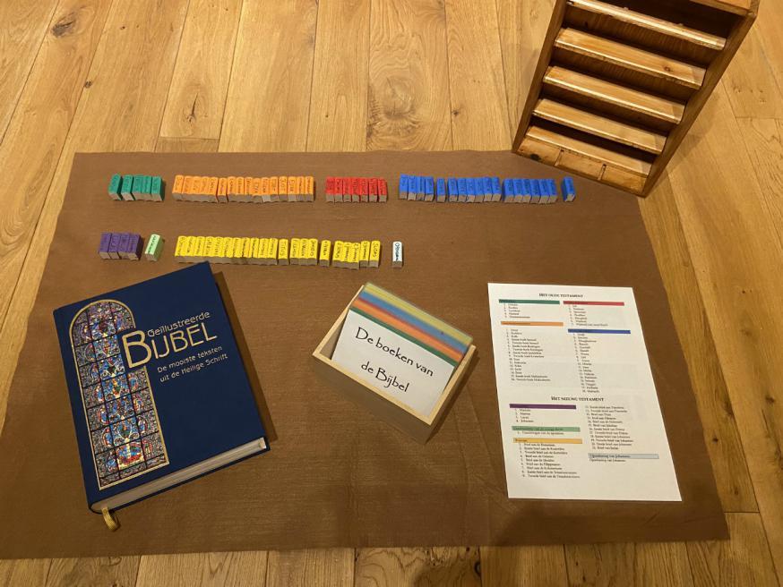 Godly Play - De boeken van de Bijbel. © Joke Vermeire