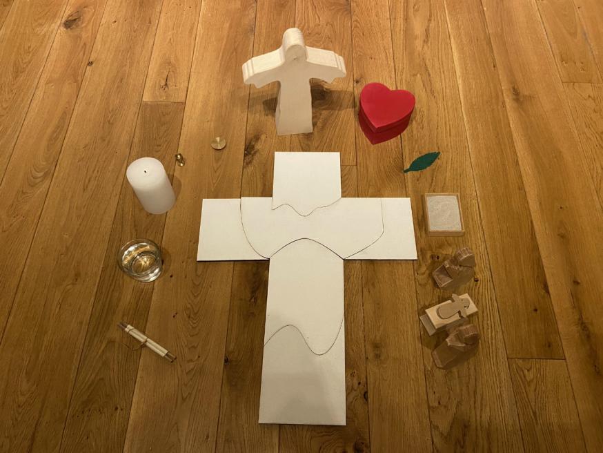 Godly Play - Op weg naar Pasen © Joke Vermeire