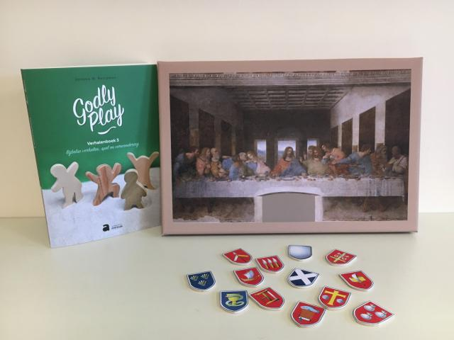 Godly Play Jezus en de twaalf © Els Agten