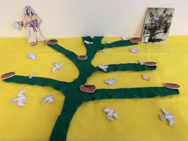 Godly Play Parabel van het mosterdzaadje © Els Agten
