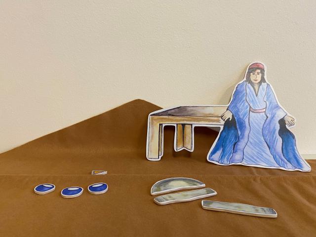 Godly Play Parabel van het zuurdesem © Els Agten