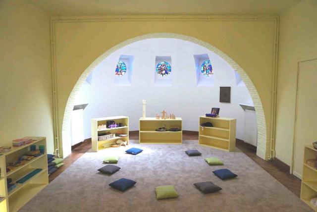 De Godly Play ruimte van de Sint-Michielsbeweging in Kortrijk © Emina Gastan