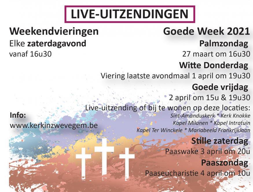 Goede week in Kerk in Zwevegem © Kerk in Zwevegem / Communicatie