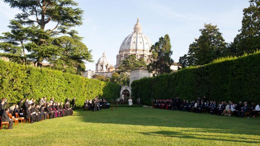 De tuin van het Vaticaan © Vatican Media